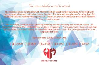 Your Invited - About the Holiday Heroes